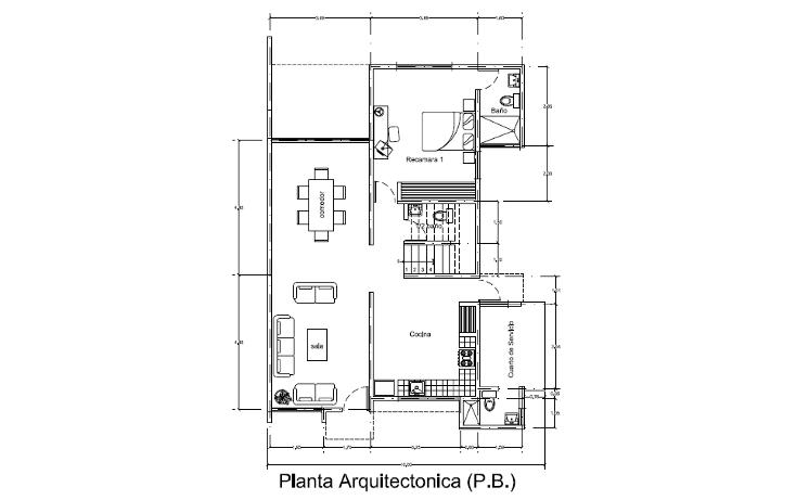 Foto de casa en venta en  , temozon norte, mérida, yucatán, 1947208 No. 02
