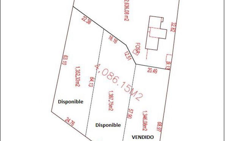 Foto de terreno habitacional en venta en, temozon norte, mérida, yucatán, 2031456 no 06