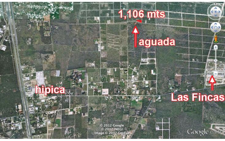 Foto de terreno habitacional en venta en  , temozon norte, mérida, yucatán, 2044520 No. 01