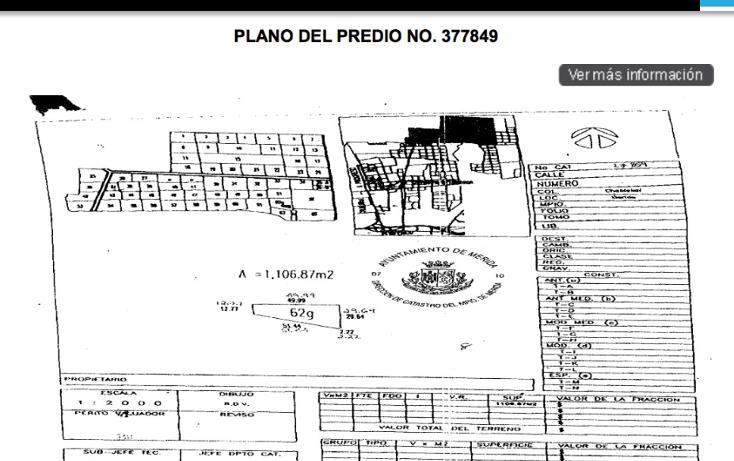 Foto de terreno habitacional en venta en  , temozon norte, mérida, yucatán, 2044520 No. 02