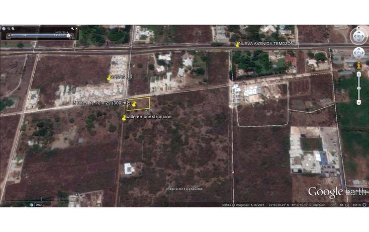 Foto de terreno habitacional en venta en  , temozon norte, mérida, yucatán, 613536 No. 06