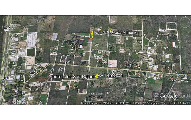 Foto de terreno habitacional en venta en  , temozon norte, m?rida, yucat?n, 613537 No. 01