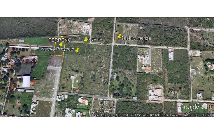 Foto de terreno habitacional en venta en  , temozon norte, m?rida, yucat?n, 613537 No. 02