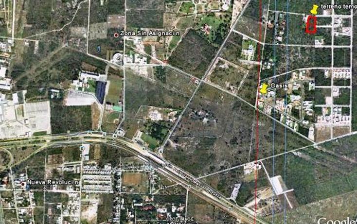 Foto de terreno habitacional en venta en  , temozon norte, mérida, yucatán, 947159 No. 03
