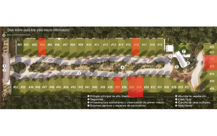 Foto de terreno habitacional en venta en  , temozon norte, mérida, yucatán, 948083 No. 09