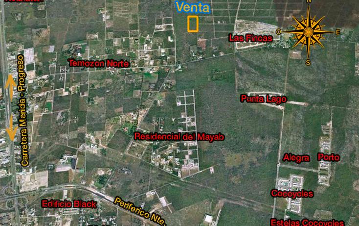 Foto de terreno comercial en venta en  , temozon, temozón, yucatán, 1114619 No. 02