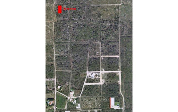 Foto de terreno habitacional en venta en  , temozon, temozón, yucatán, 1286801 No. 02