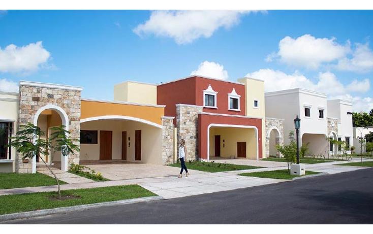 Foto de casa en venta en  , temozon, temoz?n, yucat?n, 1287047 No. 01