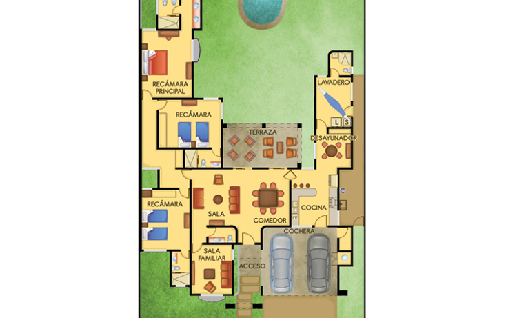 Foto de casa en venta en  , temozon, temoz?n, yucat?n, 1287047 No. 07