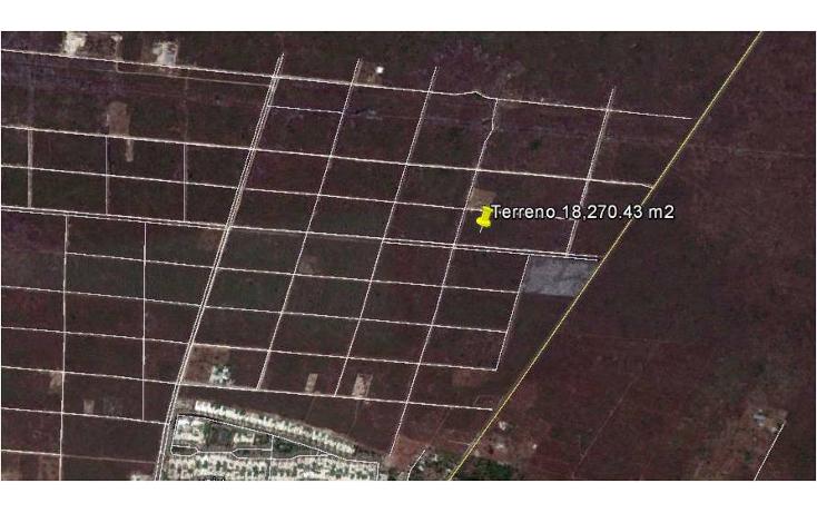 Foto de terreno habitacional en venta en  , temozon, temozón, yucatán, 1301067 No. 01