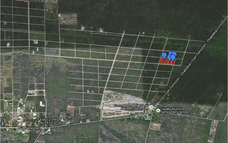 Foto de terreno habitacional en venta en  , temozon, temozón, yucatán, 1301067 No. 02
