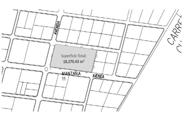 Foto de terreno habitacional en venta en  , temozon, temozón, yucatán, 1301067 No. 03