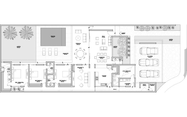 Foto de casa en venta en  , temozon, temozón, yucatán, 1429735 No. 14