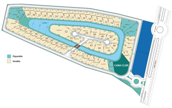 Foto de terreno habitacional en venta en  , temozon, temoz?n, yucat?n, 1454647 No. 01