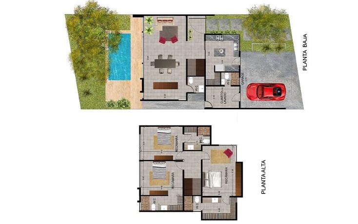 Foto de casa en venta en  , temozon, temozón, yucatán, 1484583 No. 03