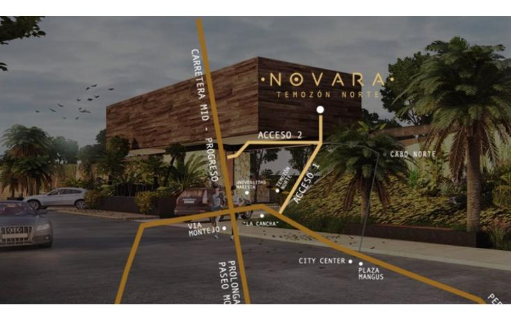 Foto de terreno habitacional en venta en  , temozon, temozón, yucatán, 1747090 No. 02