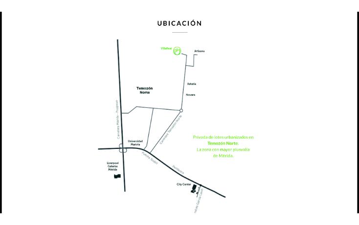 Foto de terreno habitacional en venta en  , temozon, temozón, yucatán, 1816004 No. 04
