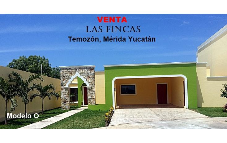 Foto de casa en venta en  , temozon, temozón, yucatán, 1927629 No. 01