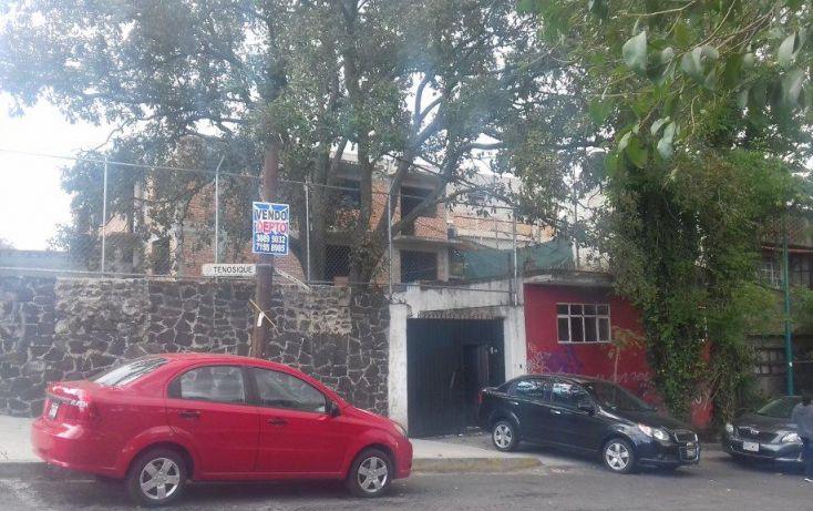 Foto de terreno habitacional en venta en tenosique 162, héroes de padierna, tlalpan, df, 1741754 no 02