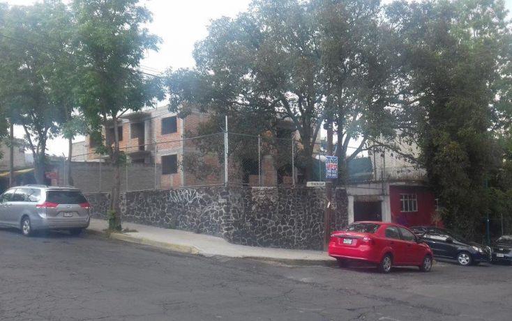 Foto de terreno habitacional en venta en tenosique 162, héroes de padierna, tlalpan, df, 1741754 no 03