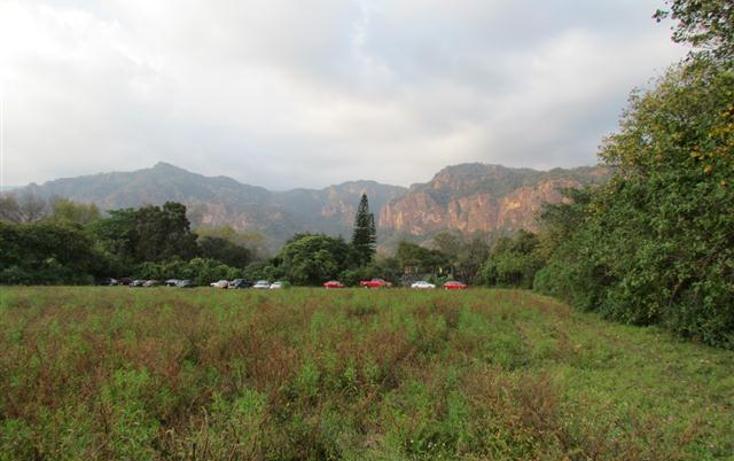 Foto de terreno habitacional en venta en  , tepoztlán centro, tepoztlán, morelos, 1192053 No. 11