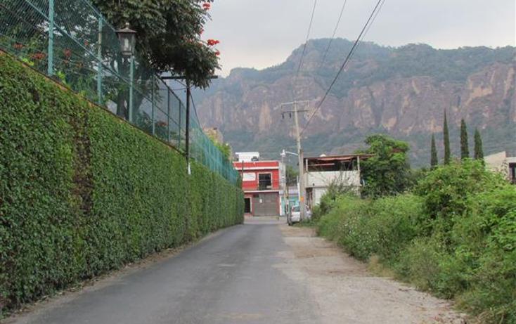 Foto de terreno habitacional en venta en  , tepoztlán centro, tepoztlán, morelos, 1192053 No. 33