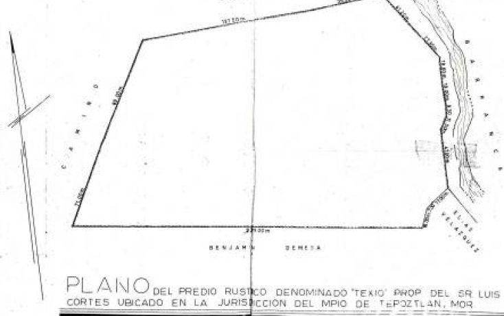 Foto de terreno habitacional en venta en, tepoztlán centro, tepoztlán, morelos, 1873610 no 07