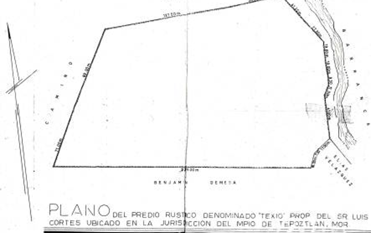 Foto de terreno habitacional en venta en  , tepoztlán centro, tepoztlán, morelos, 1873610 No. 07