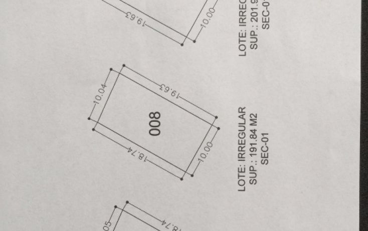 Foto de terreno habitacional en venta en, terán, tuxtla gutiérrez, chiapas, 1756796 no 02