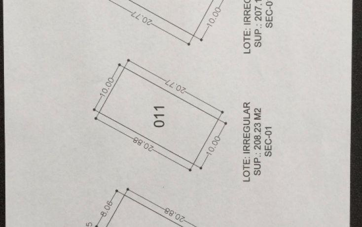 Foto de terreno habitacional en venta en, terán, tuxtla gutiérrez, chiapas, 1756796 no 03