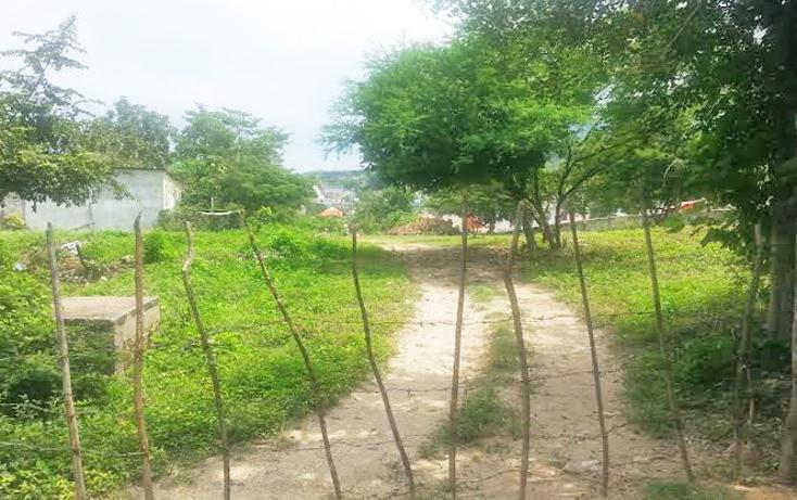 Foto de terreno habitacional en venta en  , terán, tuxtla gutiérrez, chiapas, 620461 No. 01