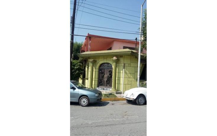 Foto de casa en venta en  , terminal, monterrey, nuevo león, 1272383 No. 01