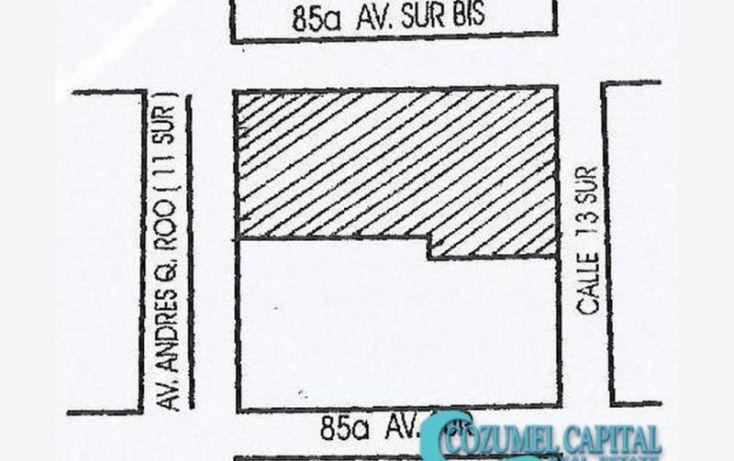 Foto de terreno comercial en venta en terreno 11 avenida, 11 avenida entre 85 y 85 bis, repobladores de 1848, cozumel, quintana roo, 1781610 no 01