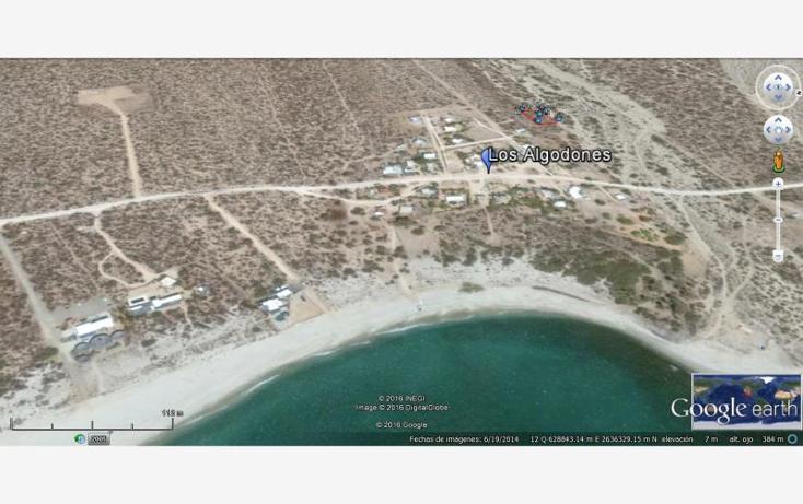 Foto de terreno habitacional en venta en terreno con hermosa vista al mar a solo 300 metros de la playa nonumber, los algodones, la paz, baja california sur, 578172 No. 02