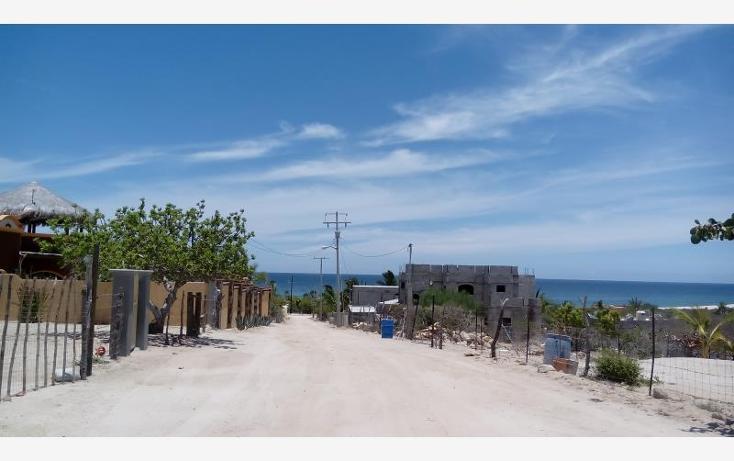 Foto de terreno habitacional en venta en terreno con hermosa vista al mar a solo 300 metros de la playa nonumber, los algodones, la paz, baja california sur, 578172 No. 03