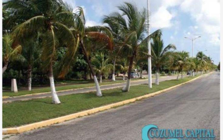 Foto de terreno habitacional en venta en terreno recobeco, carretera costera norte por calle san juan, zona hotelera norte, cozumel, quintana roo, 1155411 no 02
