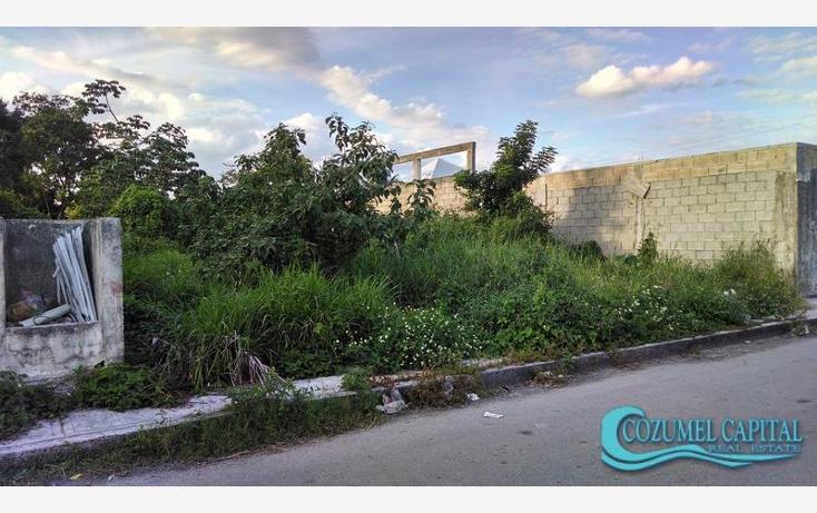 Foto de terreno habitacional en venta en terreno semilla 60 avenida sur entre calles 19 y 21 sur colonia independencia #, independencia, cozumel, quintana roo, 1441315 No. 01