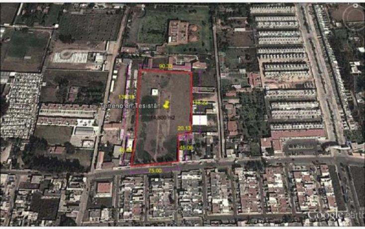 Foto de terreno habitacional en venta en tesistan, la magdalena, zapopan, jalisco, 1607300 no 01