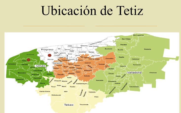 Foto de terreno comercial en venta en  , tetiz, tetiz, yucatán, 1046033 No. 02