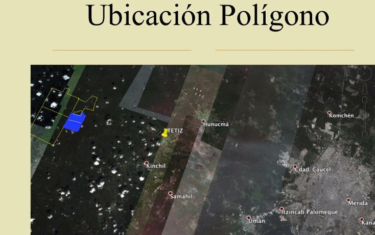 Foto de terreno comercial en venta en  , tetiz, tetiz, yucatán, 1046033 No. 04