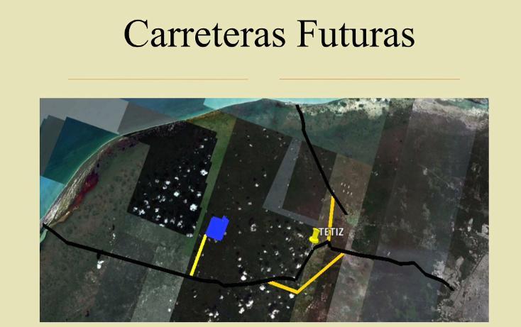 Foto de terreno comercial en venta en  , tetiz, tetiz, yucatán, 1046033 No. 05