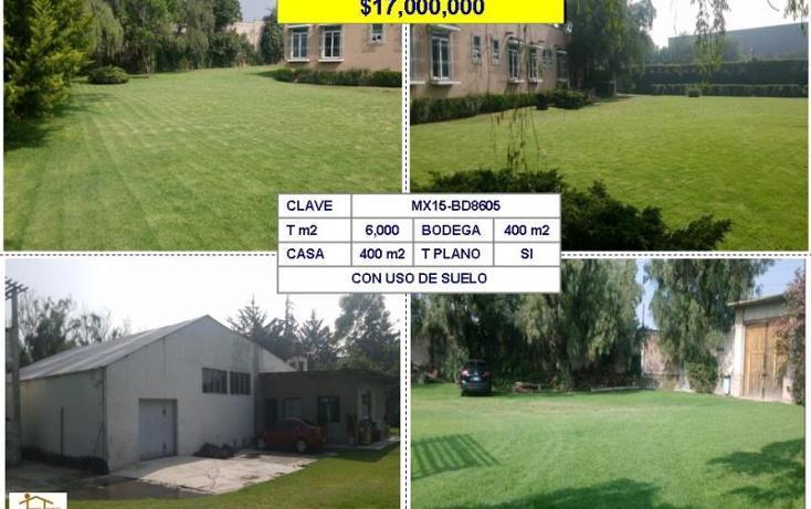 Foto de terreno habitacional en venta en  , texcacoa, tepotzotlán, méxico, 980905 No. 01