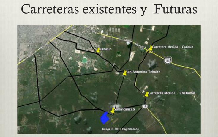 Foto de terreno comercial en venta en  , teya, kanasín, yucatán, 1617296 No. 02