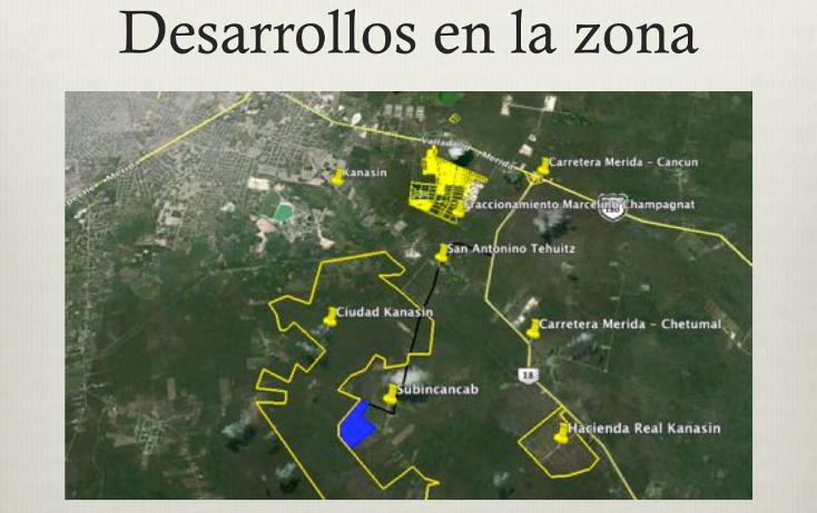 Foto de terreno comercial en venta en  , teya, kanasín, yucatán, 1617296 No. 03
