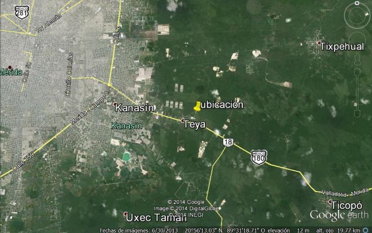 Foto de terreno habitacional en venta en  , teya, kanasín, yucatán, 2642009 No. 04
