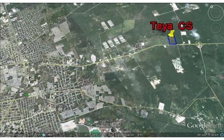 Foto de terreno comercial en venta en  , teya, teya, yucatán, 1098349 No. 01