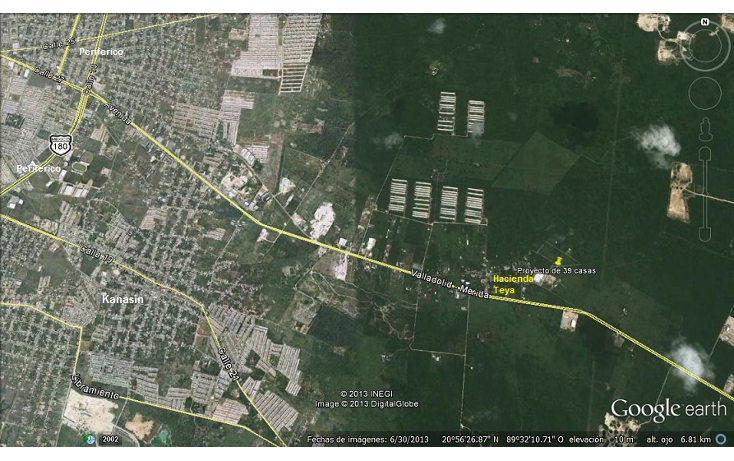 Foto de terreno habitacional en venta en  , teya, teya, yucat?n, 1266419 No. 03