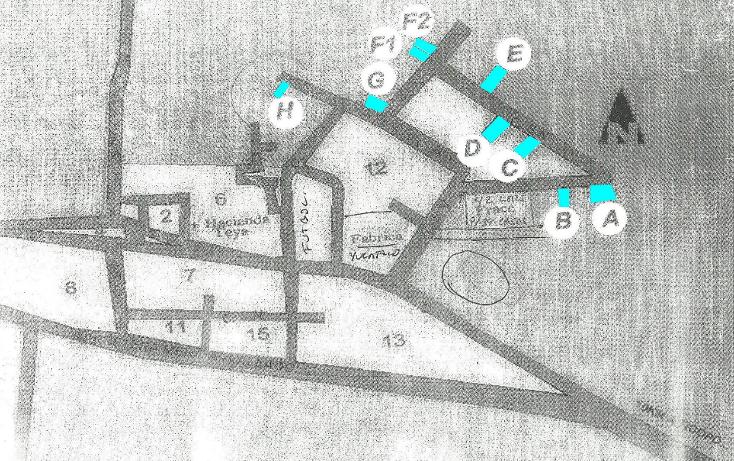 Foto de terreno habitacional en venta en  , teya, teya, yucatán, 1282921 No. 01