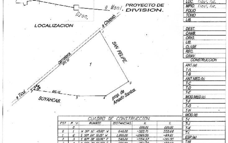 Foto de rancho en venta en  , ticul centro, ticul, yucatán, 1042593 No. 02
