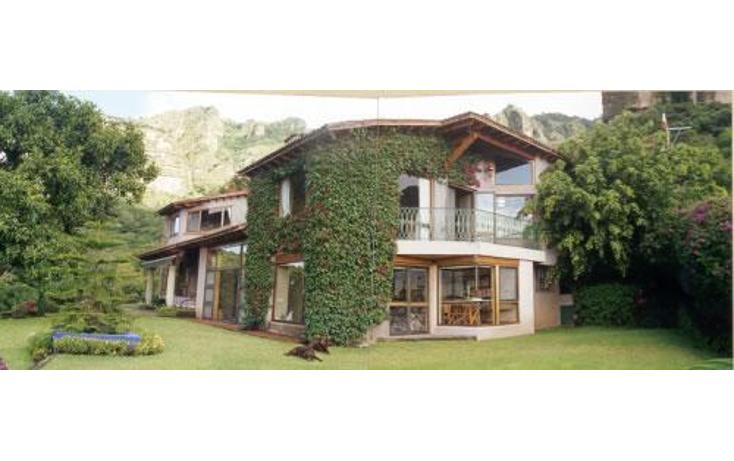 Foto de casa en venta en  , tierra blanca, tepoztlán, morelos, 1289503 No. 01